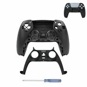 Upper Lower Face Cover Case Frame Handle Housing Shell For Ps5 Controller Parts