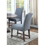 Best Master Furniture Fabric With Rustic Wood Side Chairs Grey Modern And Contempo