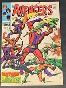 Avengers 55 - 1st Appearance Of Ultron - Key Grail - High Grade Copy - See Pics