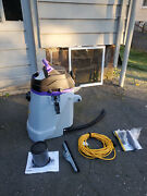 Proteam Provac Fs 6 6qt Backpack Vacuum With Commercial Power Nozzle Tool Kit