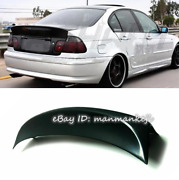 Rear Trunk Lip Spoiler Ducktail Wing For 1998-2005 Bmw E46 Coupe Csl