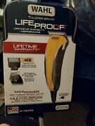 Wahl 79610-100 Life Proof Comfort Grip Pro Haircut Trimming Set Kit - 21 Piece