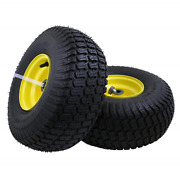 Tire Assembly Replacement For John Deere Riding Mowers Front Wheels Steel 2 Pack