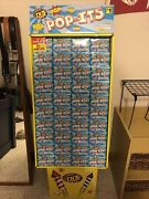 Huge Stand Of Pop It Snappers With 229 Boxes Perfect For 4th Of July Partyandrsquos
