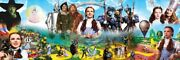 Jigsaw Puzzle Entertainment The Wizard Of Oz Montage 1000 Piece New 39x13 Pano