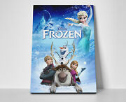 Frozen Movie Poster Or Canvas
