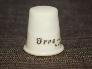 Vintage Plastic Ad Thimble Free Westinghouse Sewing Machines