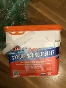 Hth Super 3 Inch Chlorine Tablets For Swimming Pool, 25 Lbs Brand New Fast Ship