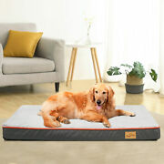 Waterproof Memory Foam Dog Bed Ultra Soft Mattress Thick Orthopedic Joint Relief
