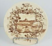 Antique Waa William Alsager Adderley 1883 Anglais Series Transferware Side Plate