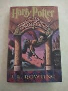 Harry Potter Book 1- First American Edition First Printing J.k. Rowling