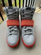 Nike Nsw Skystepper 599277 007 Limited Edition Exclusive Air Yeezy 2 Red October