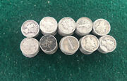 100 Mercury Dimes 10 Face Of 90 Silver Dimes Winged Liberty Head 1916-1945