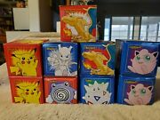 Burger King Pokemon 23k Cards Complete Set Plus Extra. Five New And Four Opened.