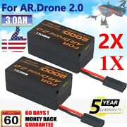 1x-4x 3000mah 11.1v Lithium-polymer Battery For Parrot Ar Drone 2.0 Quadricopter