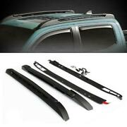 Car Roof Racks Luggage Carrier 125 Lbs For 05-19 Toyota Tacoma Double Cab