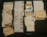 1033----wwii Letters Of Wilma + Robert Carlson Both In Army To Parents Eureka Ca