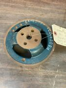 1955 1956 Ford Lincoln Mercury 3 Groove A/c Water Pump Pulley Nos Fomoco 621
