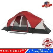 Ozark Trail 8-person Dome Outdoor Camping Tent Waterproof Hiking Travel Folding