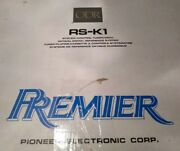 Pioneer Odr Rs-k1 Cassette Player Nib New Old School Mint Rare Never Installed