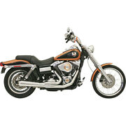 Harley Bassani - Exhaust System Road Rage 2 In 1 Chrome Dyna 06-17 Fxd