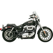 Harley Bassani - Exhaust System Radial Sweeper Black Xl Sportster 1200 883 86-03