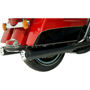 Harley Supertrapp Exhaust Stout Slip-on Mufflers Touring 17-20 Black 4