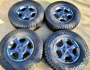 Hol 9236 17 Factory Oem 2020-2021 Jeep Gladiator Rubicon Wheels And Tires 4