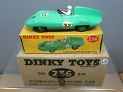Dinky Toys Model No.236 Trade Box Of 6 Connaught Racing Car  Mib
