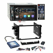 Soundstream Dvd Sd Bt Android Stereo Dash Kit Bose Amp Harness For Gm Chevrolet