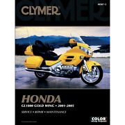 Gold Wing Goldwing Gl1800 Clymer 4201 0148 Workshop Book English