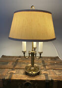 Mslc Mutual Sunset Lamp Company 23andrdquo Bouillotte 3 Light Table Lamp