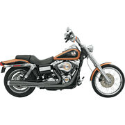 Harley Bassani - Exhaust System Road Rage 21 Black Dyna 06-17 Fxd