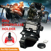 Adjustable Cell Phone Clip Holder Game Clamp Stand Mount For Ps3 Controller C