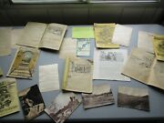 Huge 1800and039s-1900 26 Graphic Quack Medicines Covercardsbookletsdocuments Lot