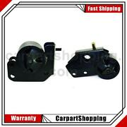 2 Marmon Ride Control Engine Mount Front Left Front Right For Dodge 1997-2004