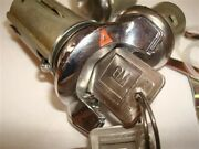 Nos Ignition Lock With Red Pointer And Door Locks 1969 Oldsmobile Cutlass And 442