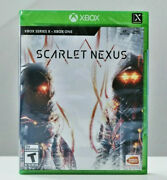 Scarlet Nexus For Xbox Series X|s - Xbox One - Brand New Sealed Free Shipping