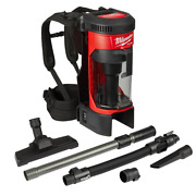 Cordless Backpack Vacuum 3-in-1 Tool-only M18 Fuel 18-volt Lithium-ion Brushle