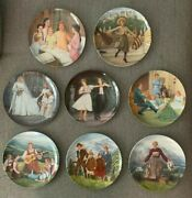 The Sound Of Music Knowles Collector Plates Complete Set Of 8