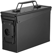 Metal Ammo Can Case Military Army Rifle Shotgun Storage Solid Steel 50cal 30cal