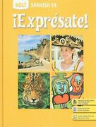 Holt Spanish 1a Expresate By Nancy Humbach Used