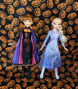 Anna And Elsa Dolls Disney Frozen 2 11 Inches Tall