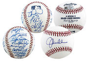 2016 Cubs 23 Bryant Rizzo Maddon Authentic Signed Oml Baseballs Bas A27964