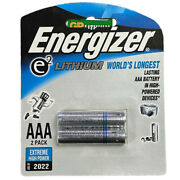 250 Pk Energizer Aaa E2 Lithium Batteries In Retail Pack L92 25 Cards Of 2
