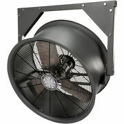 Tpi High Velocity Wall-mount Commercial- Grade Fan - 30in. Dia 1 Hp