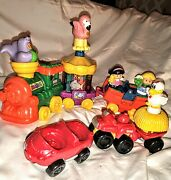 2004 Fisher Price Little People Real Sounds Aquarium Zoo Train And Farm Set