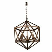 The Gray Barn Bonnyview 3-light Antique Forged Copper Brown
