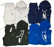 Lacoste Sweatsuit Menand039s Sport Full Zip Brand New Hoodie And Pants Free Shipping