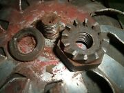 Vintage Lombard Chainsaw Engage Tooth Nut Gear And Muffler 1940s - 1950s